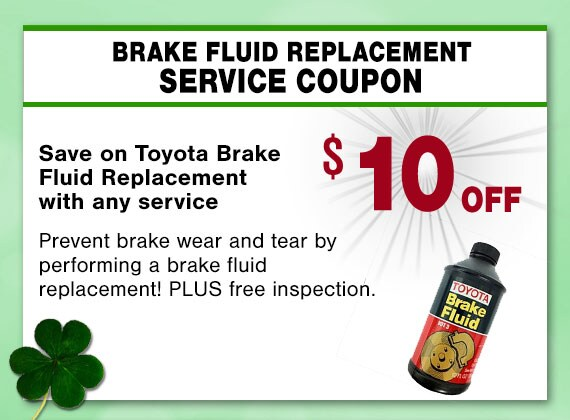 Brake Fluid Replacement Service Coupon, Peoria, AZ