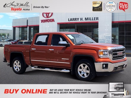 Featured Used 2015 GMC Sierra 1500 SLT for sale near you in Peoria, AZ