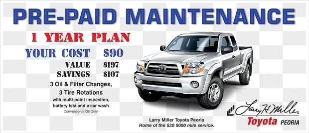 Save Big With Pre Paid TotalCare Auto Maintenance Plan In Peoria, AZ