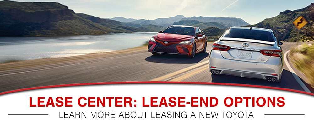 Toyota End of Lease options in Peoria