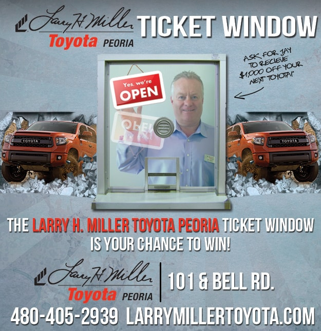 Larry H. Miller Toyota Peoria Ticket Window
