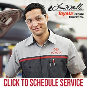 Schedule Toyota Service online at Larry H. Miller Toyota Peoria Service Center