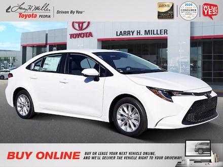 Featured New 2021 Toyota Corolla LE Sedan for sale near you in Peoria, AZ