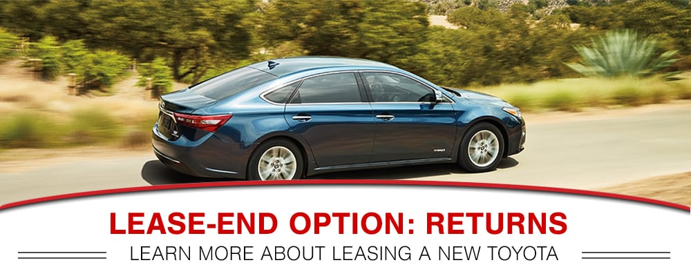 Toyota End of Lease Return Option in Peoria