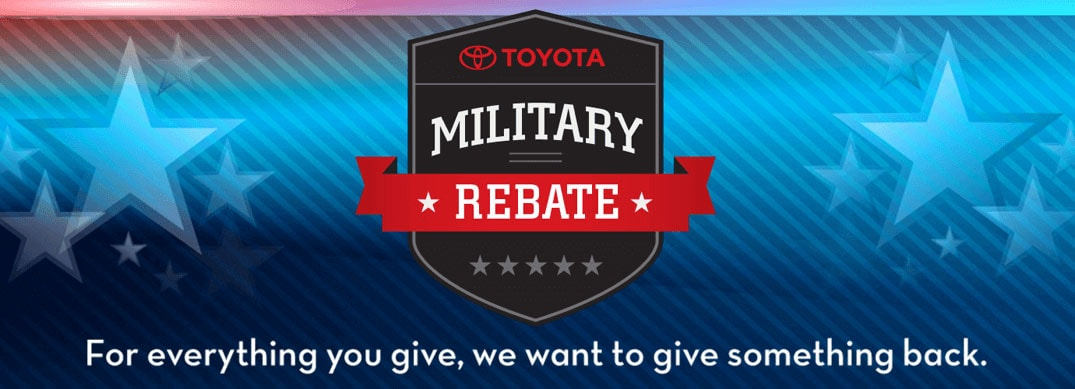 Toyota Military Rebate Program, Peoria, AZ Toyota Dealership