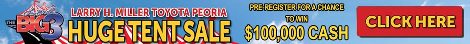 Huge Tent Sale - 3 Larry Miller Dealerships, Peoria, AZ
