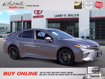 Featured Used 2018 Toyota Camry SE for sale near you in Peoria, AZ
