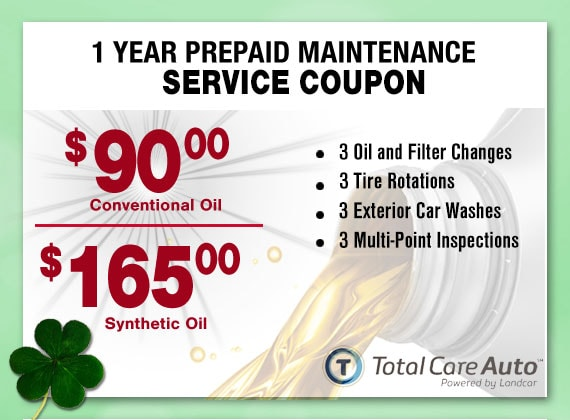 1 Year Pre-Paid Service Maintenance Package Special Coupon, Peoria, AZ