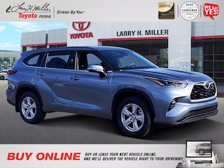 New 2021 Toyota Highlander LE SUV for sale near you in Peoria, AZ