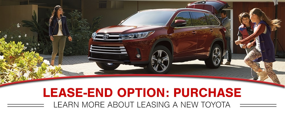 Toyota End of Lease Purchase Option in Peoria, AZ