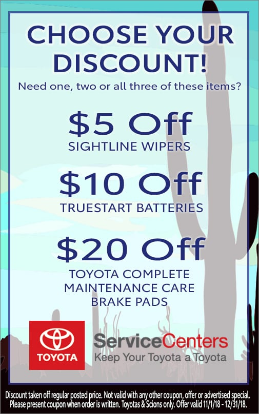 Choose Your Savings - $5, $10, $20 - See Service Advisor for details!