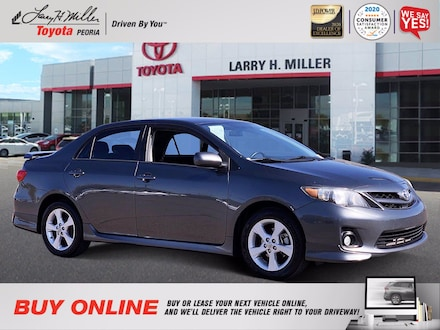 Featured Used 2013 Toyota Corolla S for sale near you in Peoria, AZ
