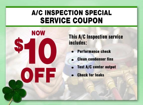 Automotive A/C Service Special, Peoria, AZ