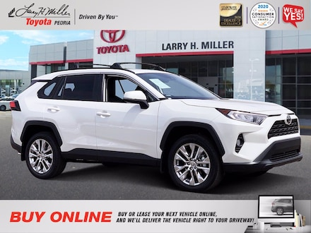 Featured Used 2021 Toyota RAV4 XLE Premium for sale near you in Peoria, AZ