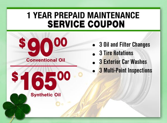 Save on Toyota Maintenance Service in Peoria with this Larry H. Miller Toyota Peoria Pre-Paid Maintenance Coupon