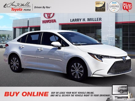 Featured New 2021 Toyota Corolla Hybrid LE Sedan for sale near you in Peoria, AZ