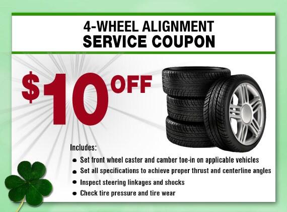 4-Wheel Alignment Service Special, Peoria, AZ