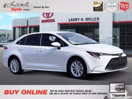 Featured New 2021 Toyota Corolla LE Sedan for sale near you in Peoria, AZ