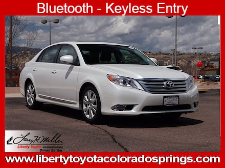 Featured Used 2012 Toyota Avalon Limited Car for sale near you in Colorado Springs, CO