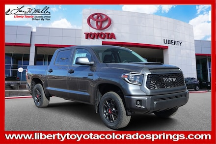 Featured New 2020 Toyota Tundra TRD Pro 5.7L V8 Truck CrewMax for sale in Colorado Springs, CO
