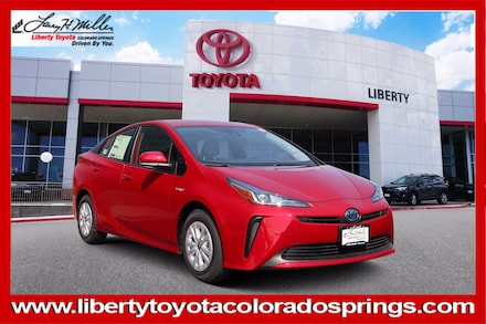 Featured New 2021 Toyota Prius LE Hatchback for sale in Colorado Springs, CO