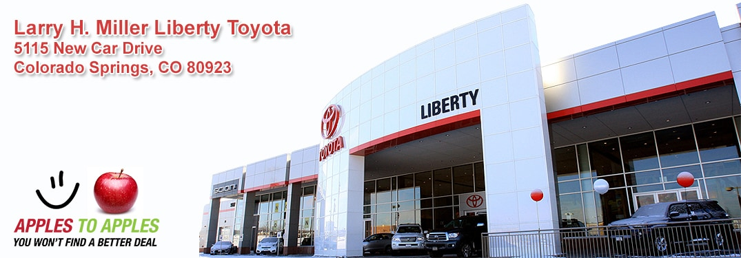 Colorado Springs Toyota >> About Larry H Miller Liberty Toyota Colorado Springs Serving