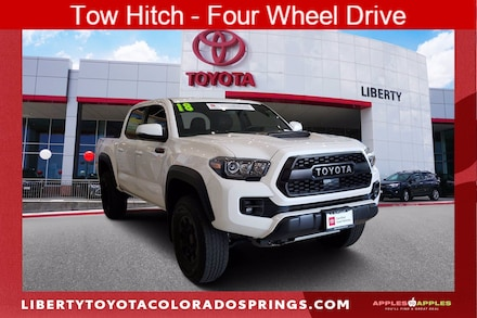 Featured Used 2018 Toyota Tacoma TRD Pro 4 for sale near you in Colorado Springs, CO