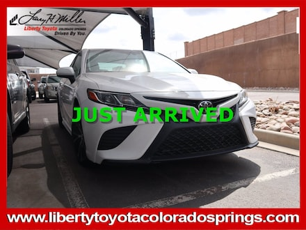 Featured Used 2018 Toyota Camry SE Car for sale near you in Colorado Springs, CO
