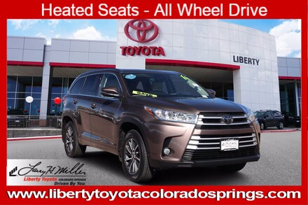 Featured Used 2018 Toyota Highlander XLE 4 for sale near you in Colorado Springs, CO