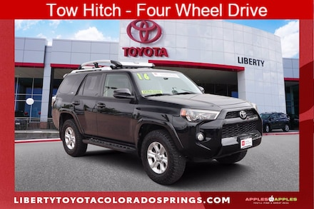 Featured Used 2016 Toyota 4Runner SR5 4 for sale near you in Colorado Springs, CO