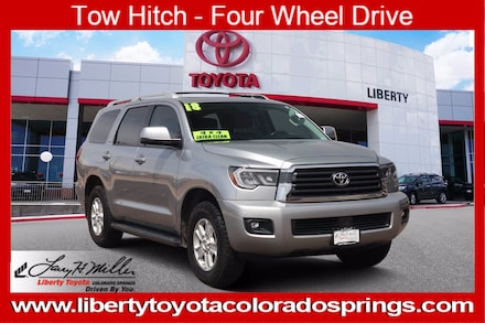 Featured Used 2018 Toyota Sequoia SR5 5 for sale near you in Colorado Springs, CO