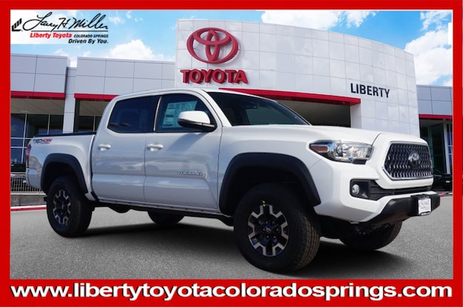 New Toyota 2019 Toyota Tacoma TRD Off Road V6 Truck Double Cab for sale in Colorado Springs, CO