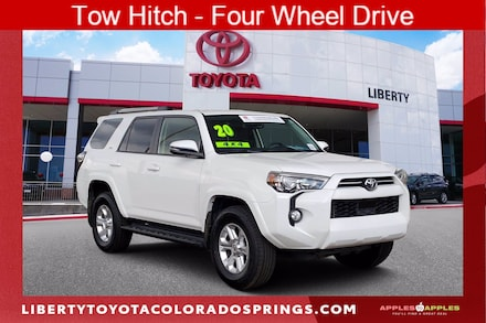 Featured Used 2020 Toyota 4Runner SR5 Premium Sport Utility for sale near you in Colorado Springs, CO