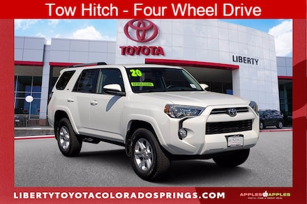 Featured Used 2020 Toyota 4Runner SR5 Sport Utility for sale near you in Colorado Springs, CO