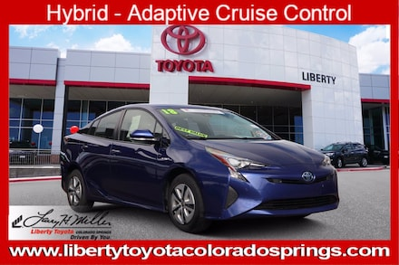 Featured Used 2018 Toyota Prius Three 5 for sale near you in Colorado Springs, CO