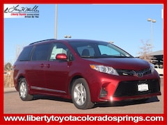 New 2020 Toyota Sienna LE 8 Passenger Van for sale near you in Colorado Springs, CO