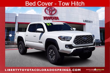Featured Used 2021 Toyota Tacoma TRD Off-Road 4 for sale near you in Colorado Springs, CO