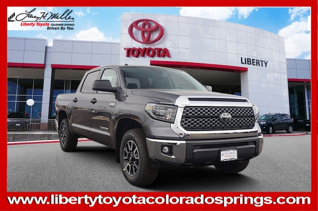 New Toyota 2019 Toyota Tundra SR5 5.7L V8 Truck CrewMax for sale in Colorado Springs, CO