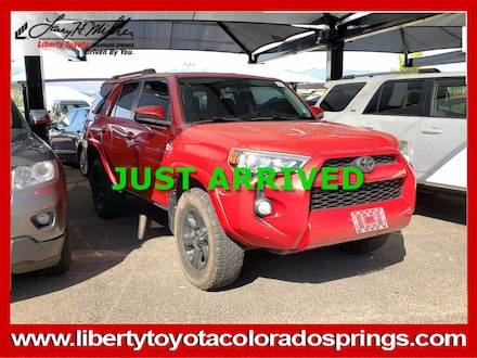 Featured Used 2016 Toyota 4Runner SR5 Sport Utility for sale near you in Colorado Springs, CO