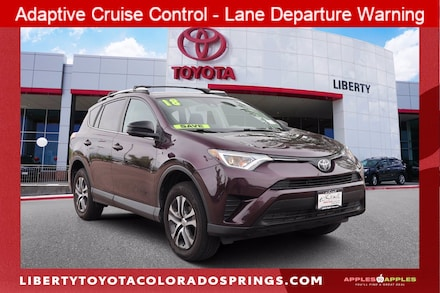 Featured Used 2018 Toyota RAV4 LE Sport Utility for sale near you in Colorado Springs, CO