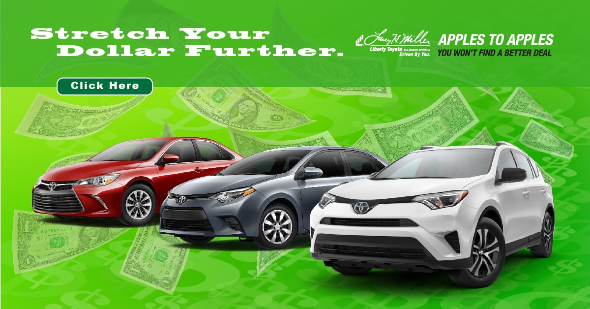 Colorado Facebook Deals | Liberty Toyota Colorado Springs | 866 759 1180