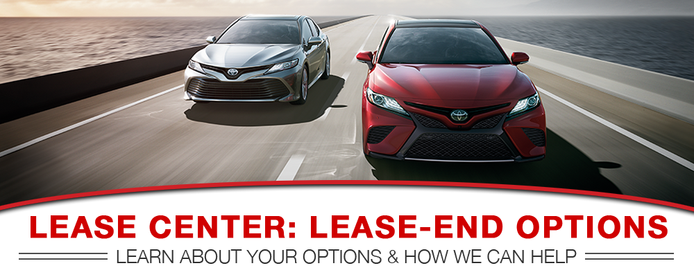 Larry H Miller Toyota Spokane >> Toyota Lease Center | Lease-End Options