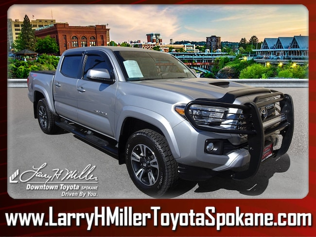 Certified Pre-Owned 2017 Toyota Tacoma TRD Off Road V6 Truck Double Cab 5TFCZ5AN1HX092832 for sale near you in Spokane, WA