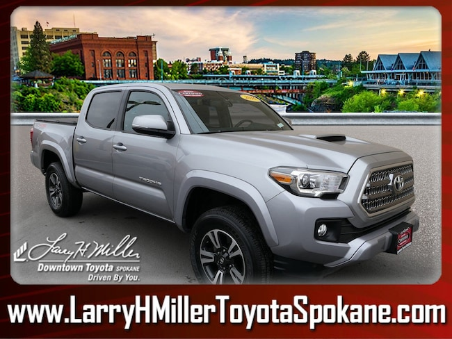 Certified Pre-Owned 2016 Toyota Tacoma TRD Sport V6 Truck Double Cab 3TMCZ5AN5GM010380 for sale near you in Spokane, WA