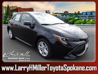 New 2019 Toyota Corolla Hatchback SE Hatchback for sale near you in Spokane WA