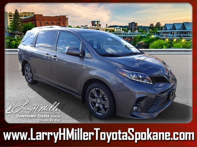 New 2019 Toyota Sienna SE 7 Passenger Van for sale near you in Spokane, WA