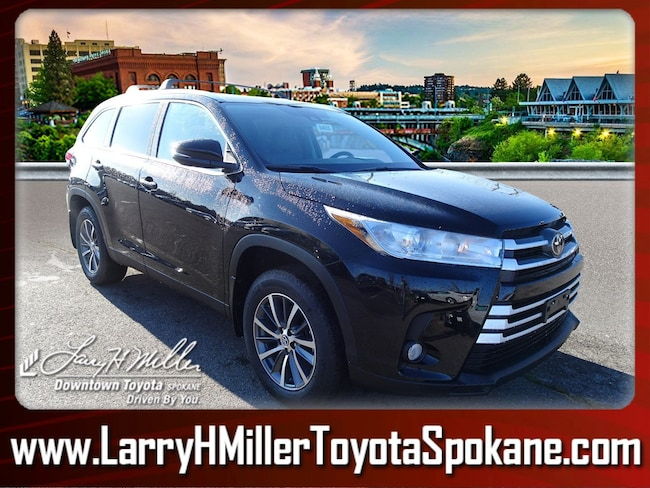 New 2019 Toyota Highlander XLE V6 SUV for sale near you in Spokane, WA