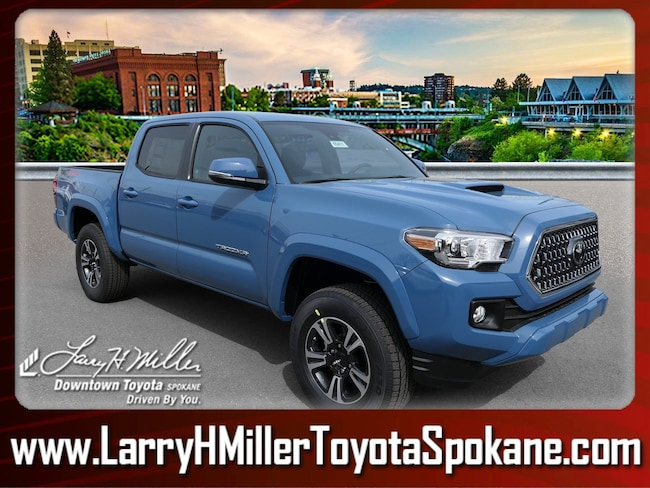 New 2019 Toyota Tacoma TRD Sport V6 Truck Double Cab for sale near you in Spokane, WA