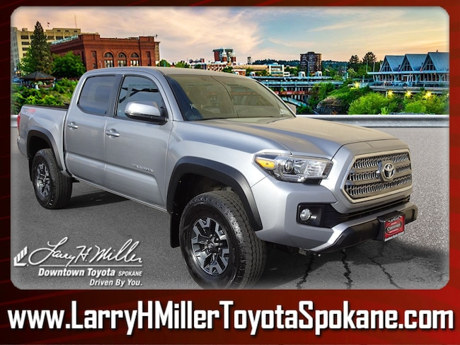 Used 2017 Toyota Tacoma Truck Double Cab 3TMCZ5AN7HM051112 for sale near you in Spokane, WA