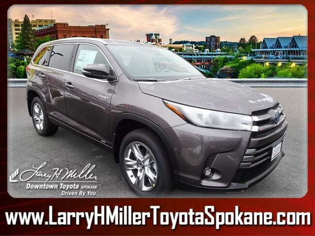 New 2019 Toyota Highlander Hybrid SUV for sale near you in Spokane, WA